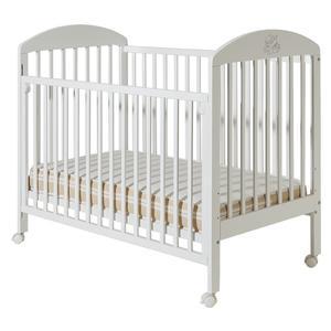 Dečiji krevetići Bambi beli bez fioke - 003