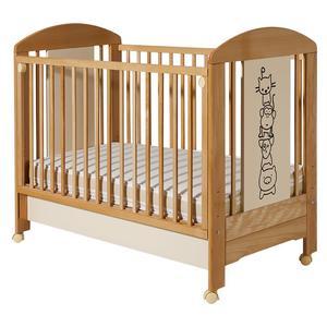 Dečiji krevetići Lolek natur beige drugari sa fiokom - 601