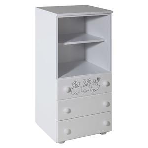 Childrens cabinet with 3 drawers with room Gloria - 067