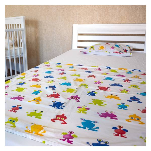 Easy beli bračni krevet  140x200 Slika-5