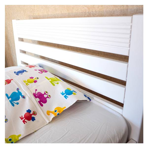 Easy beli bračni krevet  140x200 Slika-1