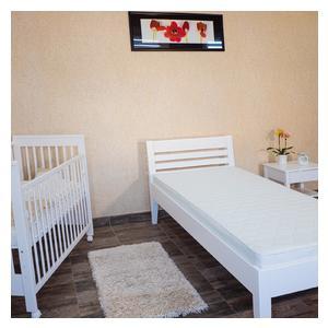 Easy beli bračni krevet  160x200