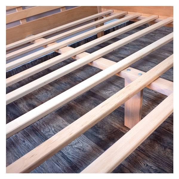 Easy beli bračni krevet  140x200 Slika-9