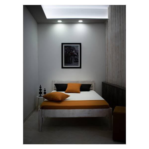 Bračni krevet Easy 140x200 Rustik Slika-1