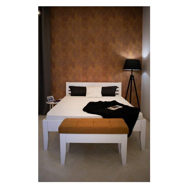 Bračni krevet Easy 140x200 Bela Slika-1