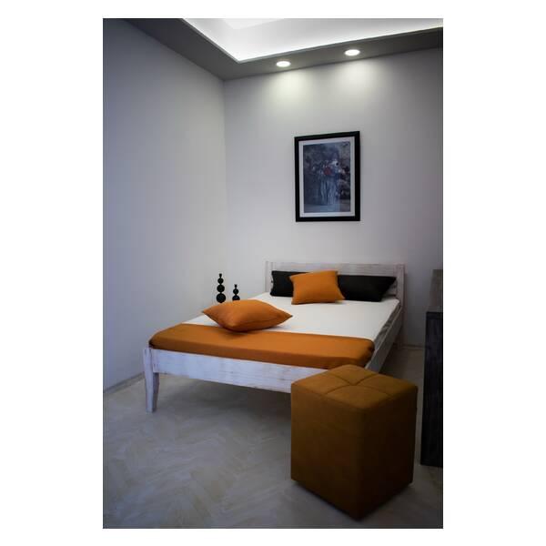 Bračni krevet Easy 140x200 Rustik Slika-6