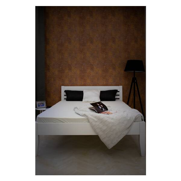 Bračni krevet Easy 140x200 Bela Slika-2
