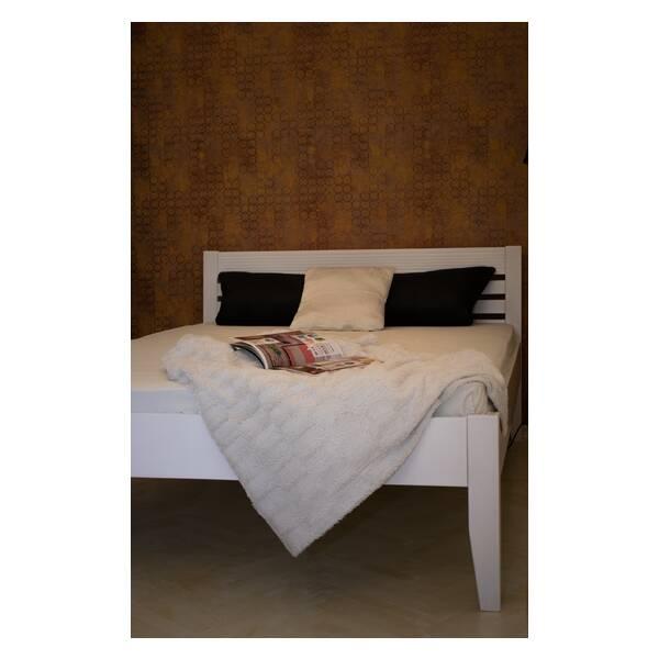 Bračni krevet Easy 140x200 Bela Slika-3