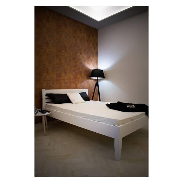 Bračni krevet Easy 140x200 Bela Slika-8