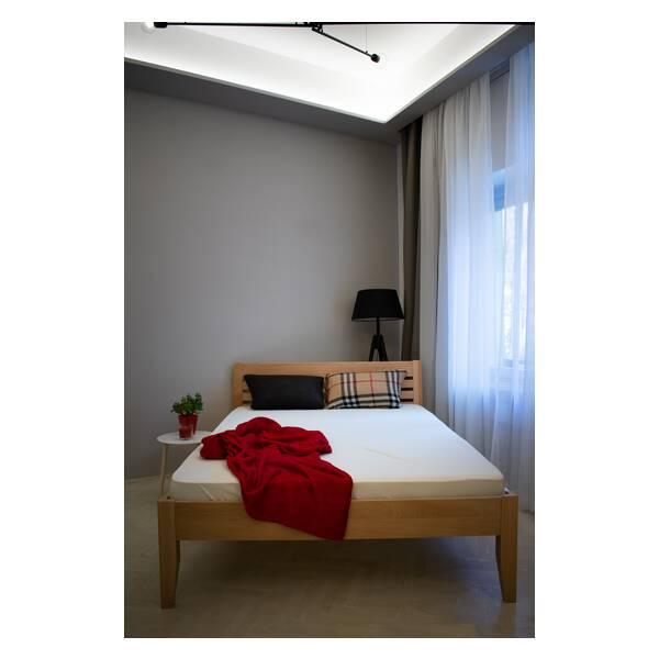 Bračni krevet Easy 160x200 Natur Slika-3
