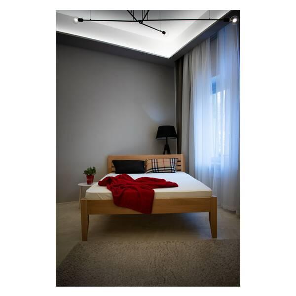 Bračni krevet Easy 160x200 Natur Slika-4
