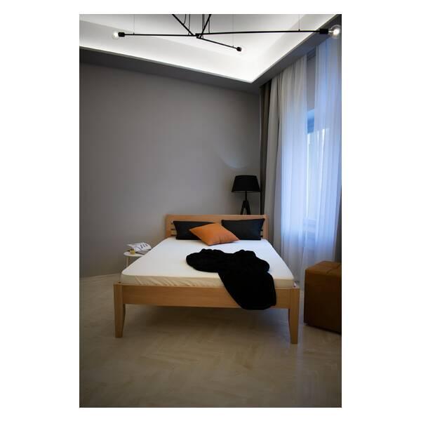 Bračni krevet Easy 140x200 Natur Slika-5