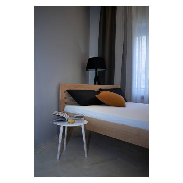 Bračni krevet Easy 160x200 Natur Slika-7
