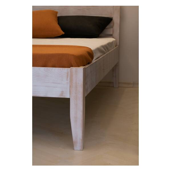 Bračni krevet Easy 140x200 Rustik Slika-7